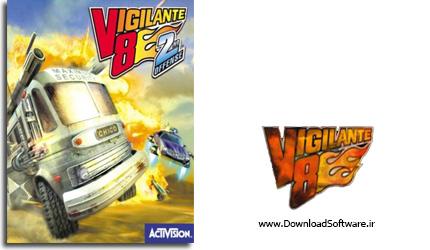 دانلود Vigilante 8 2nd بازی ماشین جنگی ps1 برای کامپیوتر