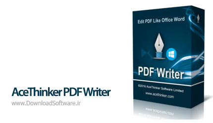 دانلود AceThinker PDF Writer نرم افزار ویرایش اسناد پی دی اف