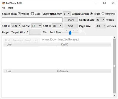 دانلود AntPConc نرم افزار بررسی و آنالیز متن ها