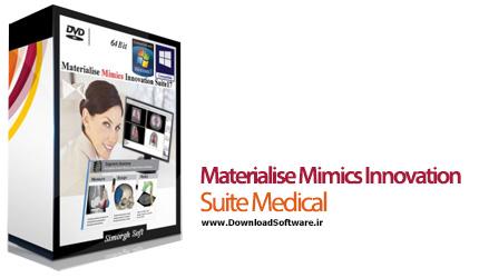 دانلود Materialise Mimics Innovation Suite Medical نرم افزار مهندسی آناتومی بدن انسان