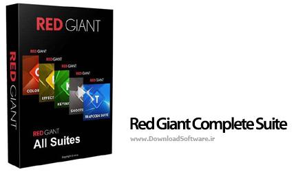 دانلود Red Giant Complete Suite 2016 مجموعه پلاگین ها برای نرم افزار های ادوبی