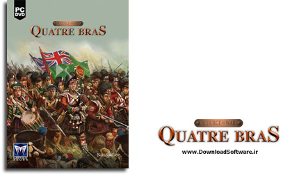 دانلود بازی Scourge of War Quatre Bras برای PC