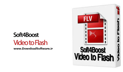 دانلود Soft4Boost Video to Flash نرم افزار تبدیل فایل های ویدیویی به فلش