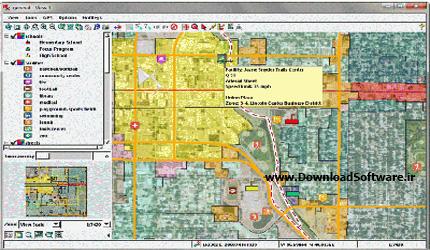 دانلود TNTatlas نرم افزار آنالیز نقشه های جغرافیایی