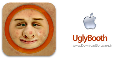 دانلود UglyBooth  نرم افزار زشت کننده برای آیفون