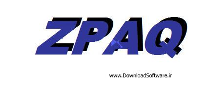 دانلود ZPAQ نرم افزار فشرده سازی تحت داس