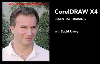 دانلود CorelDRAW X4 Essential Training - آموزش کورل دراو