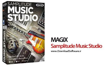 دانلود Samplitude Music Studio ساخت و ویرایش موزیک