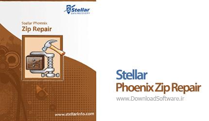 دانلود Stellar Phoenix Zip Repair بازیابی فایل های فشرده