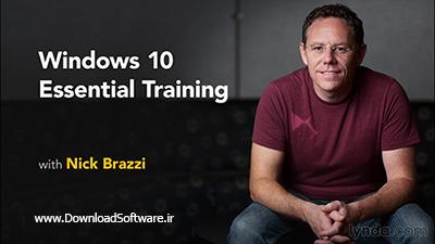 دانلود فیلم آموزشی Windows 10 Essential Training