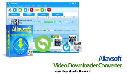 دانلود Allavsoft Video Downloader Converter مبدل ویدیوها