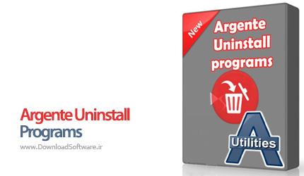 دانلود Argente Uninstall Programs حذف برنامه های مختلف سیستم