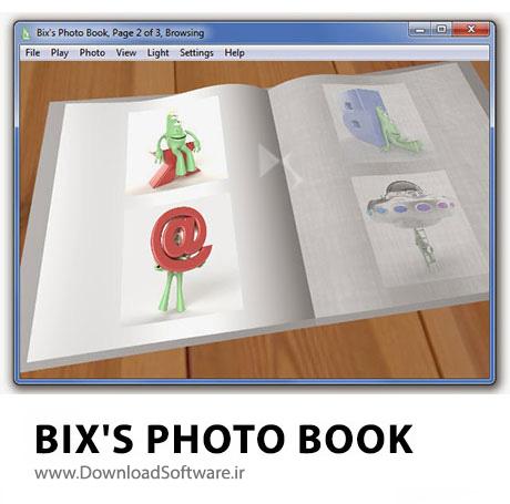 دانلود Bix's Photo Book نرم افزار ساخت آلبوم عکس 3 بعدی