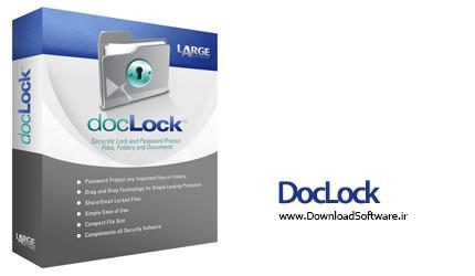 دانلود DocLock – نرم افزار محافظت و رمزگذاری داده ها