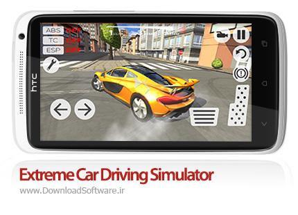 دانلود بازی Extreme Car Driving Simulator – شبیه ساز رانندگی اتومبیل برای اندروید + نسخه بی نهایت