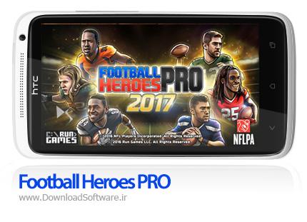دانلود بازی Football Heroes PRO – فوتبال آمریکایی برای اندروید