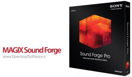 دانلود MAGIX Sound Forge Pro نرم افزار ویراش فایل های صوتی