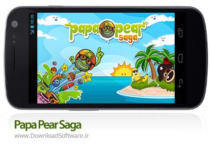 دانلود بازی Papa Pear Saga – گلابی پاپا برای اندروید + پول بی نهایت