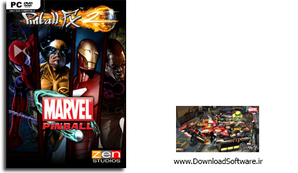 دانلود بازی Pinball FX2 Marvels Women Of Power برای PC