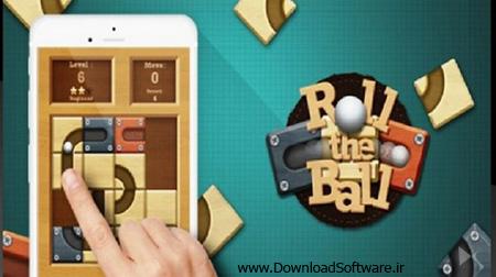 دانلود بازی Roll the Ball Slide Puzzle – چرخش توپ برای اندروید