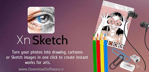 دانلود Sketch Me! Pro – تبدیل عکس به نقاشی برای اندروید