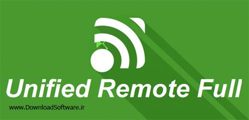 دانلود Unified Remote Full نرم افزار کنترل کامپیوتر در موبایل اندرویدی