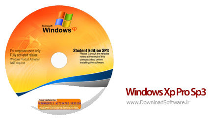 دانلود ویندوز ایکس پی Windows Xp Pro Sp3 Corporate Student Edition 2016