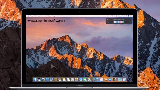 دانلود MacOS Sierra سیستم عامل مکینتاش