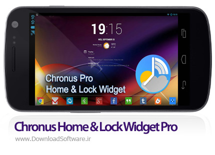 دانلود Chronus Home & Lock Widget Pro – مجموعه ویدجت زیبا برای اندروید