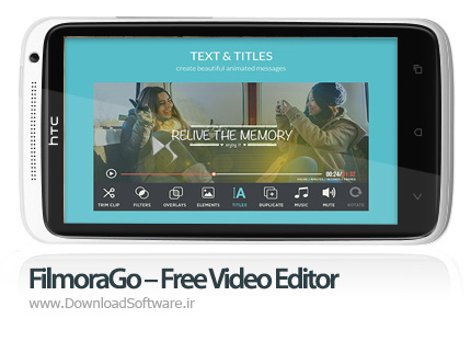 دانلود FilmoraGo – Free Video Editor Unlocked – ویرایشگر ویدیو برای اندروید