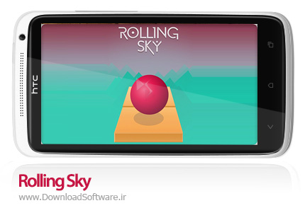 دانلود بازی Rolling Sky – آسمان نورد برای اندروید + پول بی نهایت