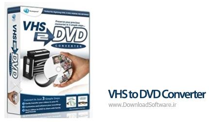 دانلود VHS to DVD Converter تبدیل فیلم های ویدیویی VHS به دیسک های DVD