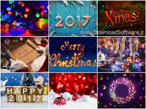 دانلود 100 والپیپر زیبا ویژه کریسمس 2017