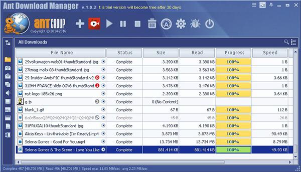 دانلود Ant Download Manager PRO - نرم افزار مدیریت دانلود