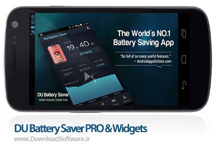 دانلود DU Battery Saver PRO & Widgets – نرم افزار بهبود مصرف باطری اندروید