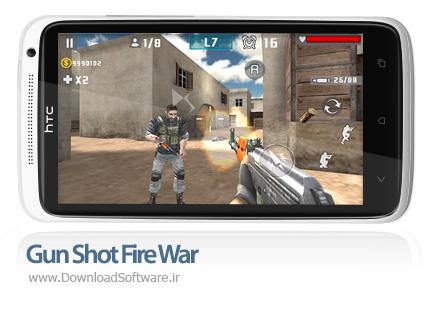 دانلود بازی Gun Shot Fire War – کانتر استریک برای اندروید + پول بی نهایت