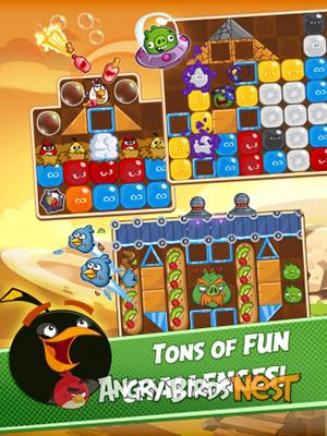 دانلود Angry Birds Blast - بازی انفجار انگری بردز اندروید
