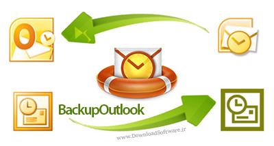 دانلود BackupOutlook نرم افزار پشتیبان گیری از اطلاعات Outlook
