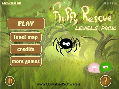 دانلود بازی فکری Fluffy Rescue Levels Pack برای کامپیوتر