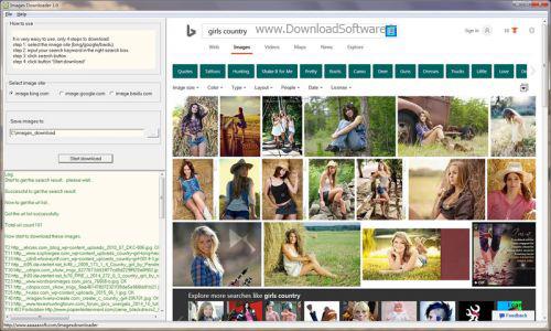 دانلود Images Downloader 1.1 نرم افزار دانلود تصاویر اینترنتی