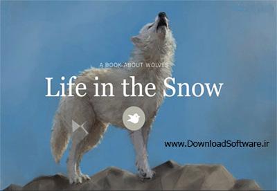 دانلود مستند زندگی در برف ۲۰۱۶ Life In The Snow