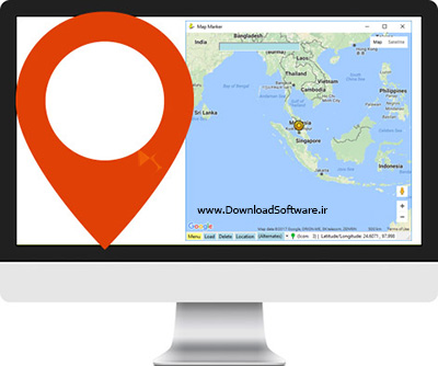 دانلود Map Marker – استفاده و نشانه گذاری نقشه های گوگل در ویندوز