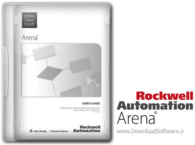 دانلود Rockwell Automation Arena – نرم افزار شبیه سازی رویداد گسسته و پیشامد