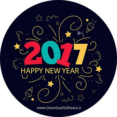 اس ام اس و پیامک تبریک سال نو میلادی 2017