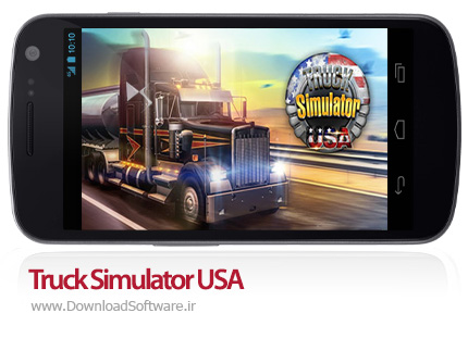 دانلود بازی Truck Simulator USA – شبیه سازی کامیون آمریکایی برای اندروید + دیتا + پول بی نهایت