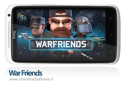 دانلود بازی War Friends برای اندروید - بازی جنگ دوستان برای اندروید
