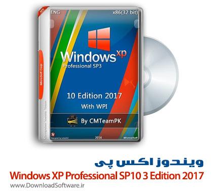 دانلود ویندوز اکس پی Windows XP Professional SP3 10 Edition 2017 + WPI
