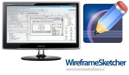 دانلود WireframeSketcher - نرم افزار طراحی رابط کاربری نرم افزارها