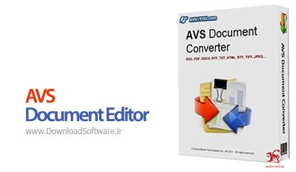 دانلود AVS Document Editor – ساخت و ویرایش اسناد