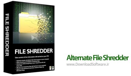 دانلود Alternate File Shredder + Portable – نرم افزار حذف غیرقابل بازگشت داده ها